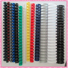 colorful big sale plastic pvc binding consumables combs(32mm)