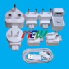 World Travel Adapter Kit for Apple iPhone iPad iPod