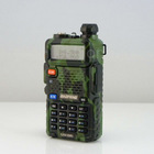 Hot Camouflage BAOFENG BF UV-5R 5W 128CH DTMF VOX Dual Band Military UHF VHF Two radio Radio fm transceiver