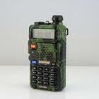 Hot Camouflage BAOFENG BF UV-5R 5W 128CH DTMF VOX Dual Band Military UHF VHF Two radio Radio fm transceiver