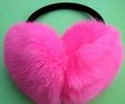 BY- ear muff fur