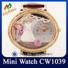 Fashionable Leather Band Watch CW1039