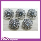 decorative rhinestone button