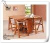 rubber wood beach table