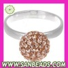 New Design Crystal Rings Jewellery Wholesale