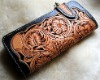 Handmade Cowhide Leather Engraved Wallet