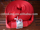 red color fire hose
