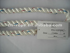 14mm Polyester 3-strand Twisted Rope