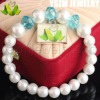 new trend product pearl bracelet with crystal