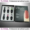 2013New uv gel kit,new professional uv gel lamp nail kit,uv gel polish kit