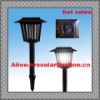 solar outdoor pest killer lamp