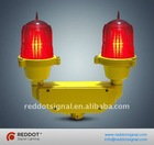 OL10 double low intensity obstruction light/twin aircraft warning light for high structure