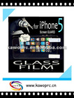 Glass Screen Protective Film Glass Film for Iphone5 samsung galaxy s3