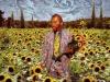 Modern Desinged Van-Gogh Sunflowers