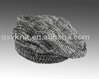 man marl beret, winter hat, knitted hat