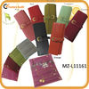 Top-Grain high quality jewellery wrap leather pouch