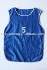 polyester promotional blue sport training bibs