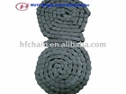 short pitch simplex row chain 08B for agricultural machinery parts