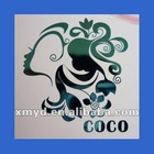 Supply Thin Electroforming Nickel Sticker With Bright Color For Decoration