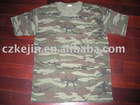 Military Camouflage Cotton T-shirt