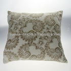100% Cotton Flower Printed Pillow Embroidery Designs