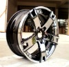 3 piece forged wheel