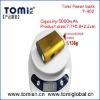5000mAh multi colors universal portable power bank for smartphone T902