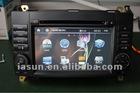 ISUN 2 din 7 inch 800*480 digital touch screen car GPS multimedia navigator for Mercedes Benz B200