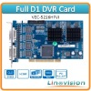 Linovision VEC-5216HFVI DVR Card, featured with full D1 recording and 2 channels matrix video output
