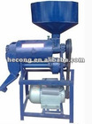 Home rice mill machine with mobile sieve