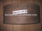 47115-483 for Isuzu brake lining