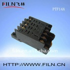 PTF14A relay socket for MY/LY/MK series relay general purpose sealed fast delivery