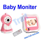 3.5-inch TFT LCD 2.4GHz HD Wirless Baby Monitor Camera Recorder With Night Vision Remote Control