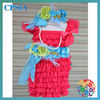 New Dress Headband Sets Vintage Girl Lace Flower Dress With Headband Set Baby Girls Tutu Dress Sets