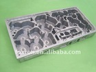 Die cast aluminum housing for large size of microwave communication device