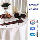 YAGAO Jacquard Table Cloth, Napkin, Table Runner YG-A03