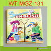 Glossy paper english learning book for children WT-MGZ-131