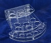 countertop acrylic cosmetic display stand