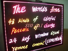 SUOCAI led rewritable menu board