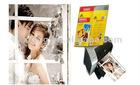 slef adhesive high glossy photo paper