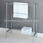 Metal standing towel racks