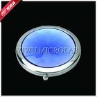 Crystal surface make-up mirror