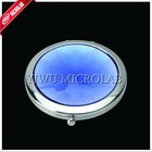 Crystal surface make-up mirror