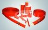 silicone rubber heat-preserving bushing of fiberglass