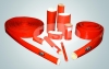 silicone rubber heat-preserving bushing of fiberglass