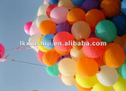 latex round party balloon, advertising balloon, promotional balloon