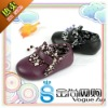 2011 Newest arrival Brand infant Leather shoes flat shoes