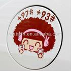 Mocmoc +93 +97 3Q Car Sticker, Unique Car Sticker
