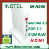 2012 android 2.3 RDP 7 1080P HD movie HDMI COM ports thin clients