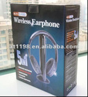 5 in 1 wireless headphone for net chat,monitor with FM